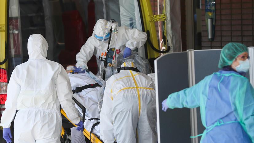 В Италии за сутки выявили более 23 тысяч случаев коронавируса