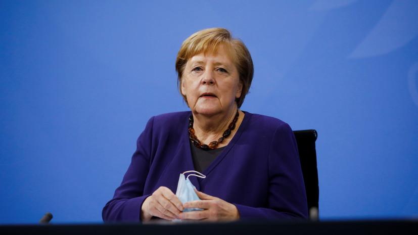 Меркель призвала укрепить ВОЗ для борьбы с глобальными угрозами