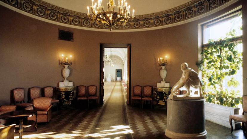 В Юсуповском дворце в Петербурге отреставрировали парадные интерьеры