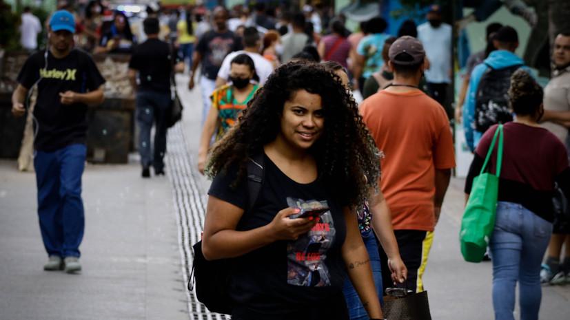 За сутки в Бразилии зафиксировали почти 47 тысяч случаев коронавируса