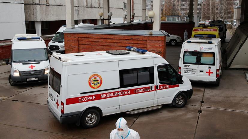 В Петербурге за сутки выявили 3726 случаев коронавируса