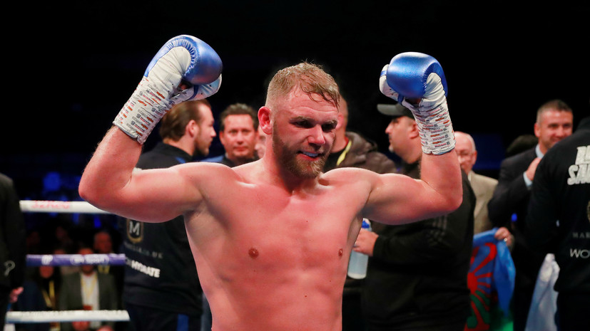 Британский боксёр Сондерс защитил титул чемпиона WBO во втором среднем весе