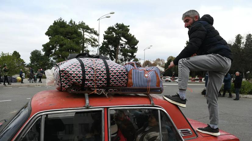 В Карабах за сутки вернулись 1244 беженца