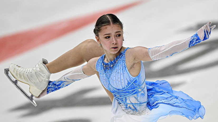 Без звёзд, но с сенсациями: Валиева исполнила тройной аксель на пятом этапе КР по фигурному катанию