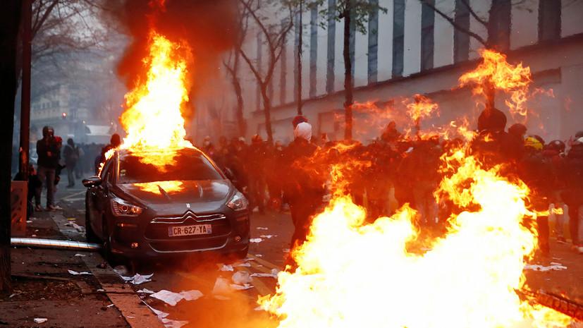 Задержаны 64 человека: как проходят протесты во Франции
