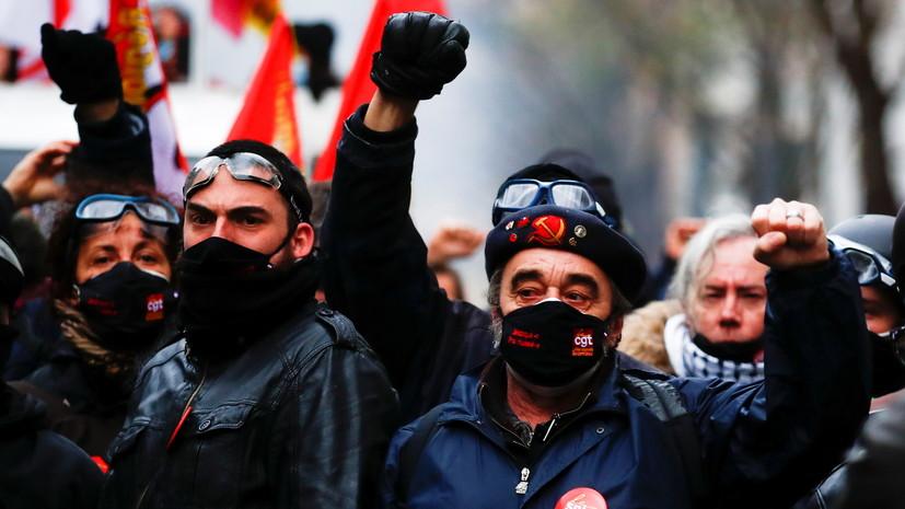 «Общественное мнение поляризовано»: почему во Франции не утихают протесты из-за законопроекта о правоохранителях