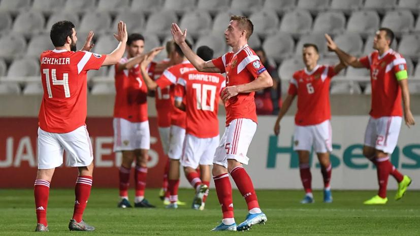 Сборная России по футболу сыграет с Хорватией в отборочной группе к ЧМ-2022
