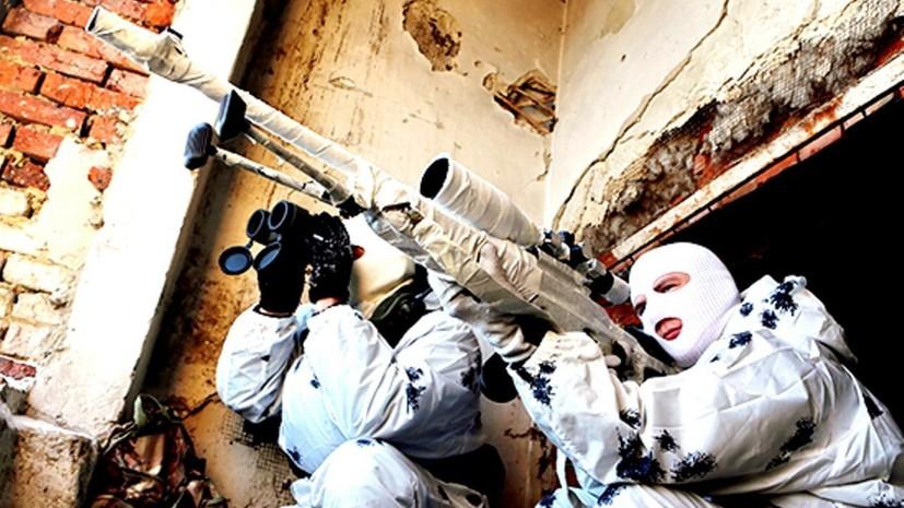 «Необходимо мгновенно принимать решение»: как совершенствуется боевая подготовка российских снайперов