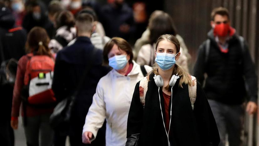 В Чехии за сутки выявили 3655 случаев коронавируса