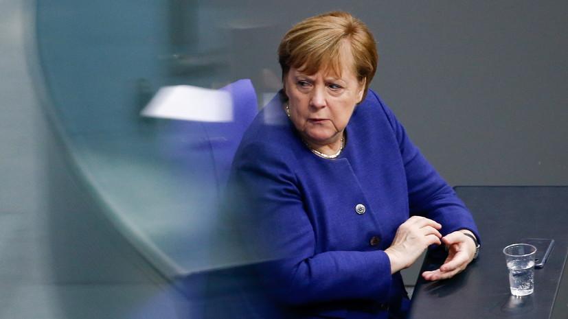 Меркель сообщила об ужесточении карантинных мер в Германии
