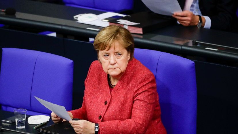 Меркель назвала возможные сроки допуска вакцины от COVID-19 в ЕС
