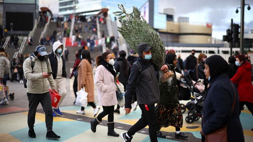 За сутки в Великобритании выявили более 18 тысяч случаев коронавируса