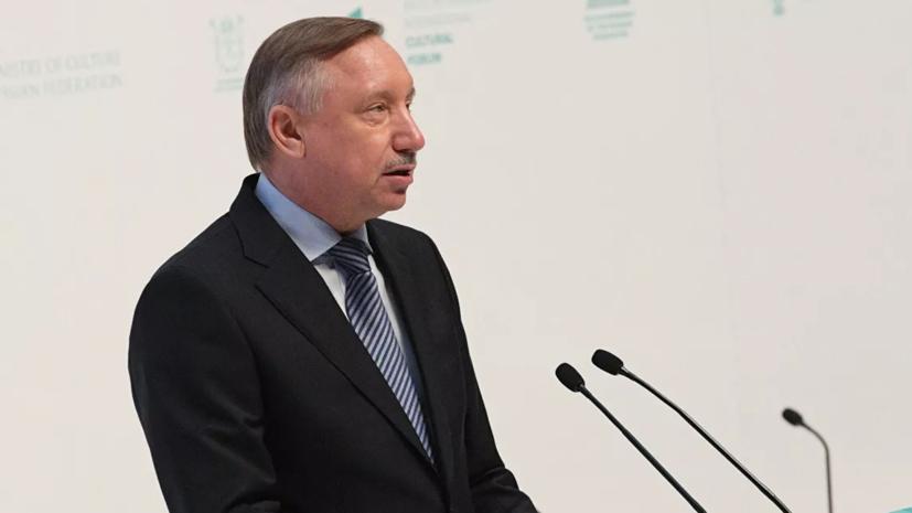 Беглов заявил о замедлении в Петербурге роста заболеваемости COVID-19