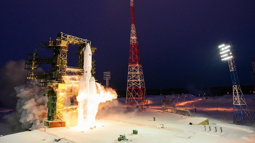 Осуществлён второй испытательный пуск тяжёлой ракеты «Ангара-А5»