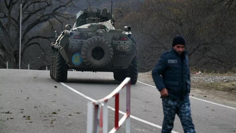 В Кремле прокомментировали ситуацию в Нагорном Карабахе