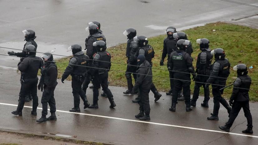 В ИВС Белоруссии после протестов 13 декабря отправили 271 человека