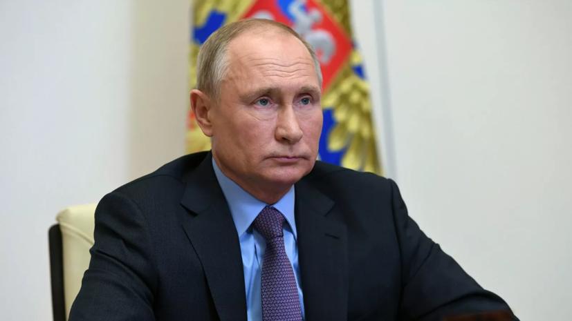 Путин призвал обратить внимание на ситуацию с госпитализациями