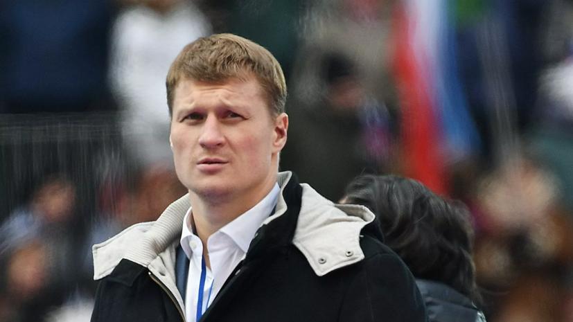 Рябинский рассказал, что Поветкин повторно попадал в больницу из-за коронавируса