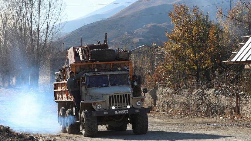 В МЧС рассказали, с какими проблемами обращаются жители Карабаха