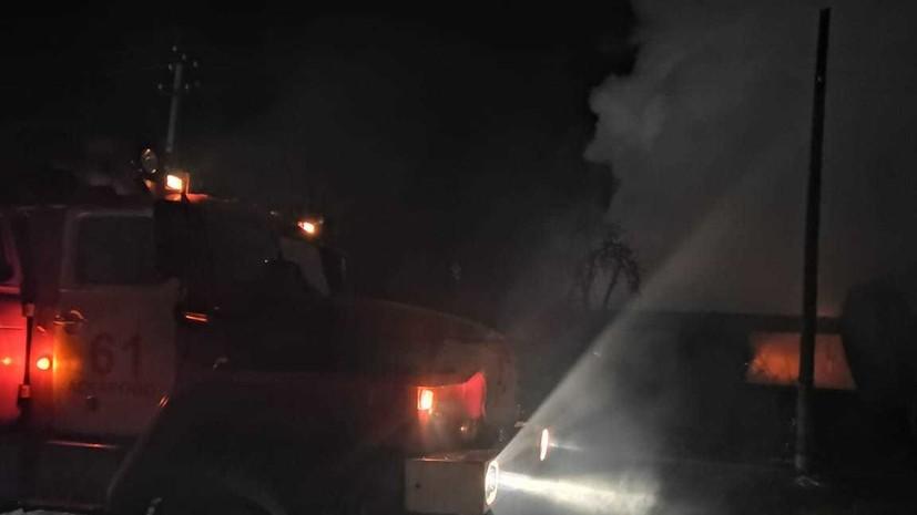 Опубликовано видео с места пожара в доме престарелых в Башкирии