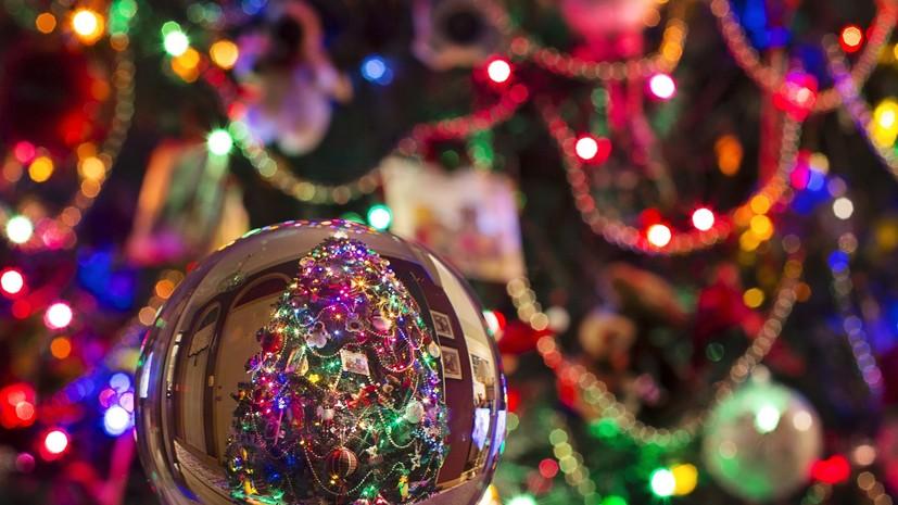 Опрос: 85% россиян собираются провести новогодние каникулы дома