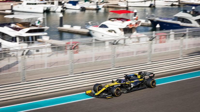 Алонсо стал лучшим по итогам тестов в Абу-Даби