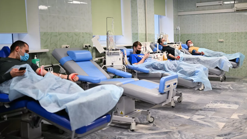 Более 5 тысяч пациентов в Москве получили плазму с антителами к COVID-19