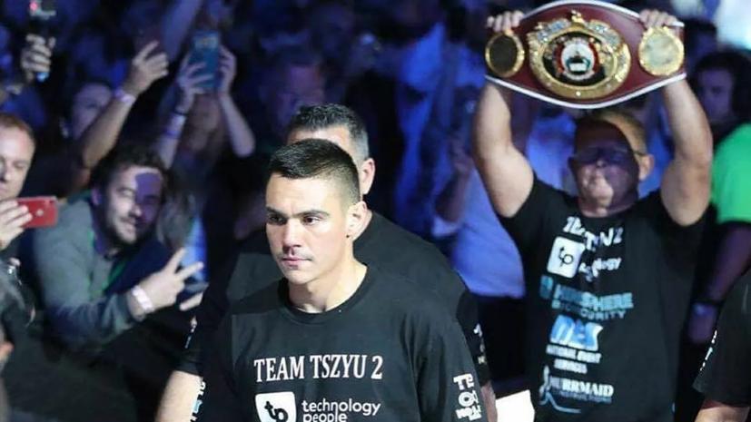 Сын Цзю нокаутировал Моргана в бою за титул WBO Global и обратился к отцу на русском языке