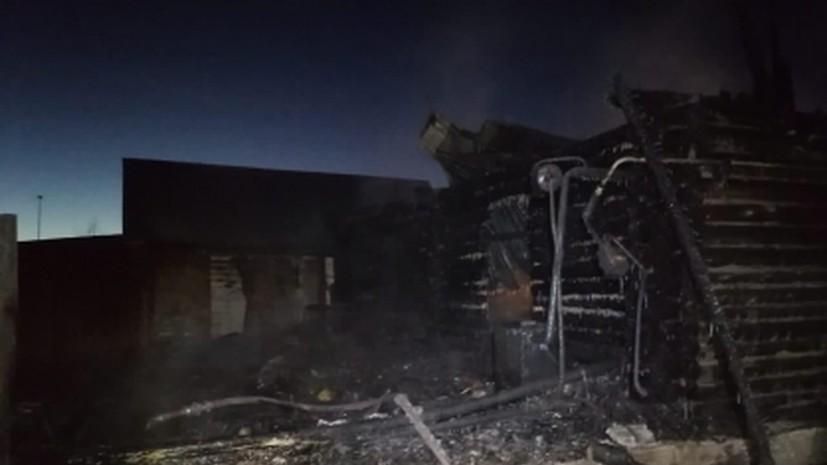 Глава сгоревшего в Башкирии дома престарелых арестована