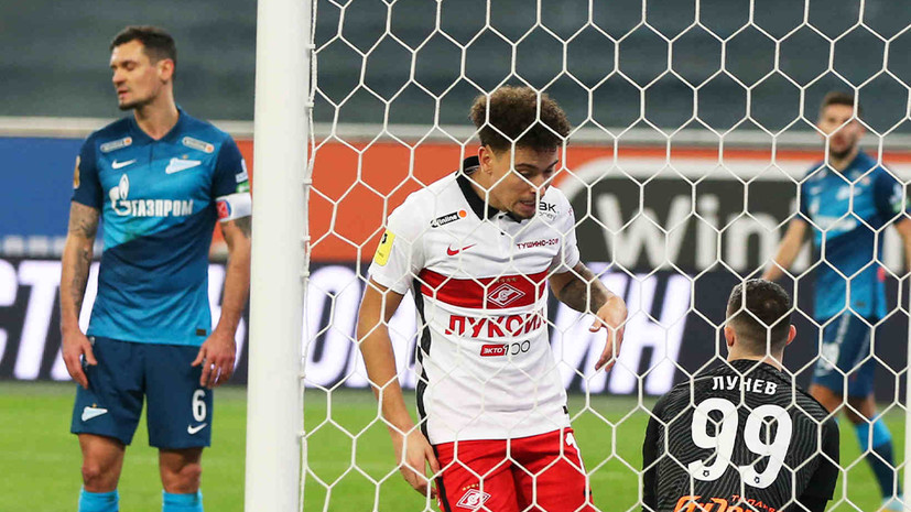 Футболист «Зенита» Ловрен отметился курьёзным автоголом в матче со «Спартаком»
