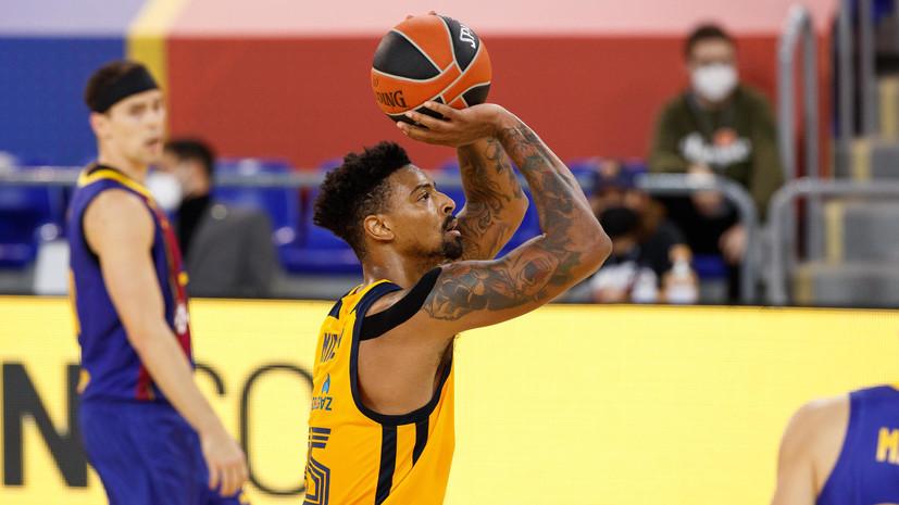 «Химки» потерпели шестое поражение подряд в баскетбольной Евролиге