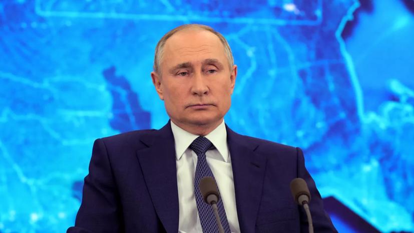 Путин назвал провокацией вопрос Шнурова про хакеров и Трампа