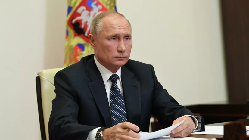Путин прокомментировал ситуацию с Иваном Сафроновым