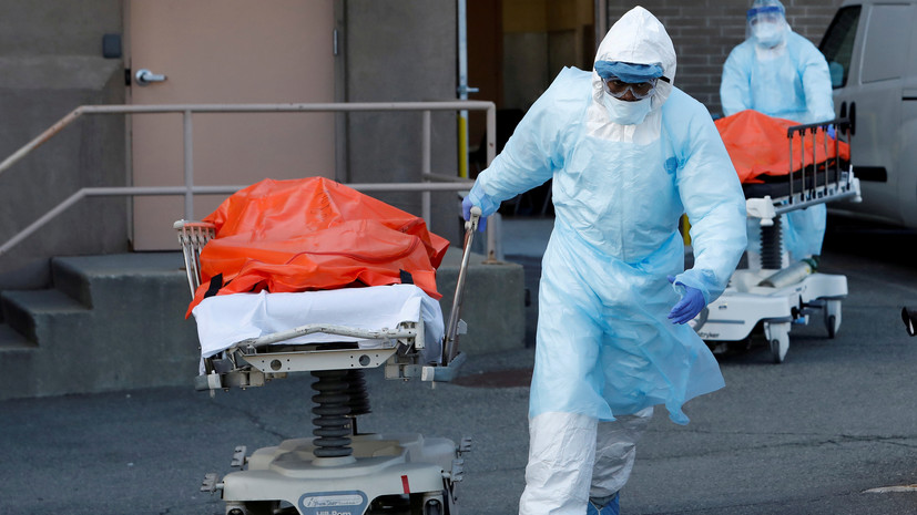 В США за сутки число случаев коронавируса возросло на 247 403