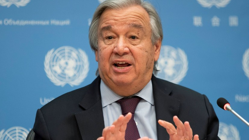 Генсек ООН рассказал о последствиях мутации коронавируса