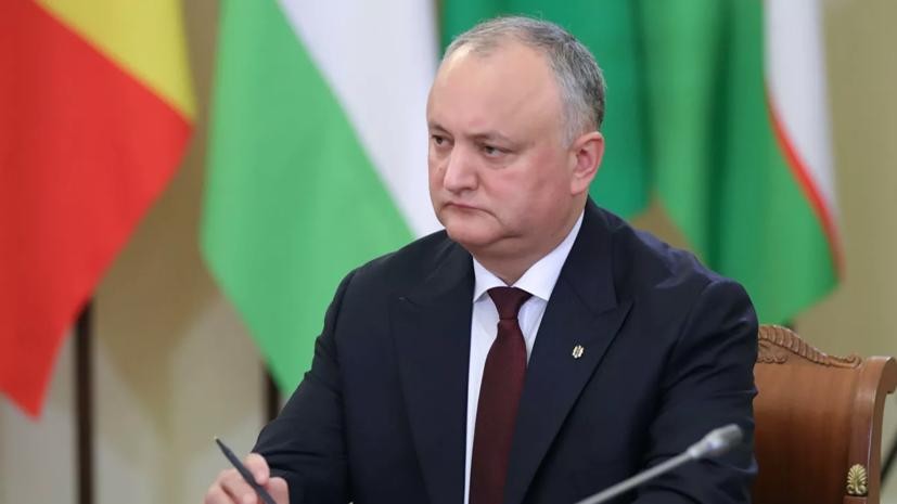 Додон утвердил снятие запрета на вещание российских каналов в Молдавии
