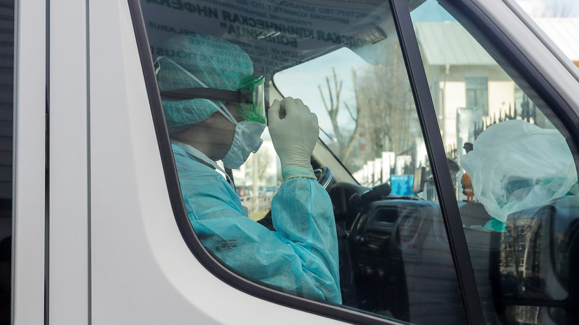 Число случаев коронавируса в Белоруссии превысило 169 тысяч