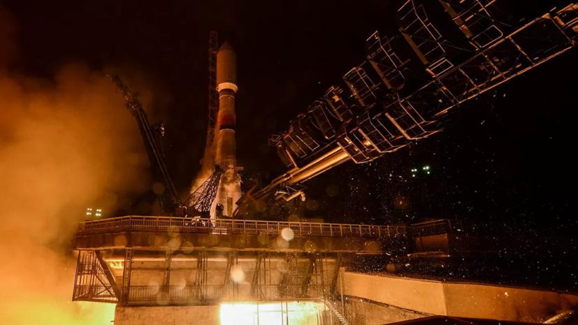 С космодрома Восточный стартовал «Союз 2.1б» со спутниками OneWeb