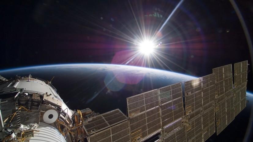Экипаж МКС ищет место утечки воздуха в российском модуле