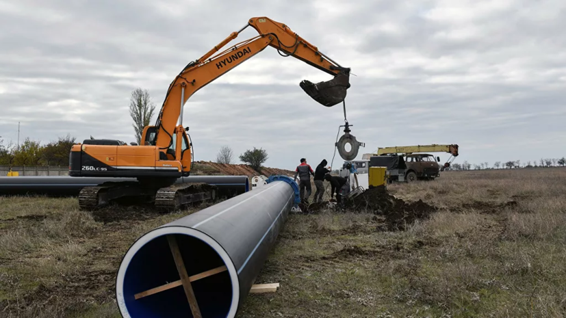 Военные завершили строительство водовода в Севастополе