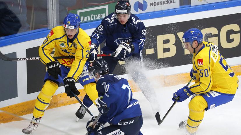 Швеция обыграла Финляндию в матче Кубка Первого канала