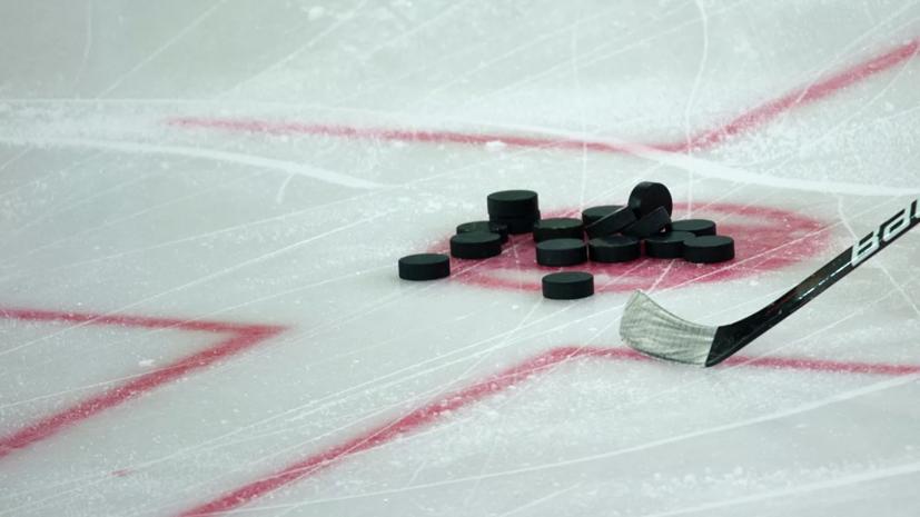 Молодёжная сборная России провела первую тренировку в Эдмонтоне в преддверии МЧМ по хоккею