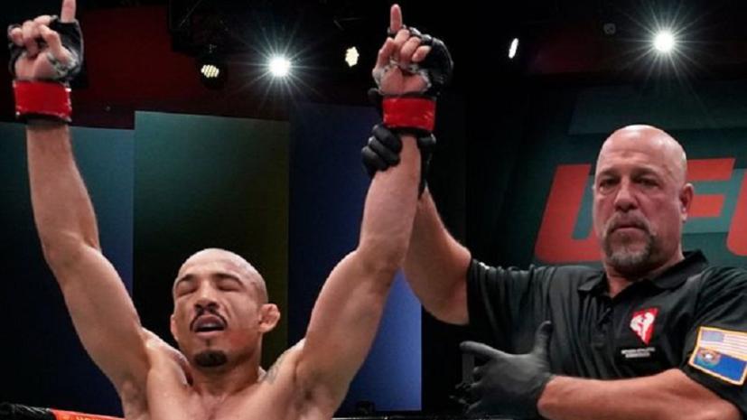 Алдо одолел Веру в бою турнира UFC Fight Night 183