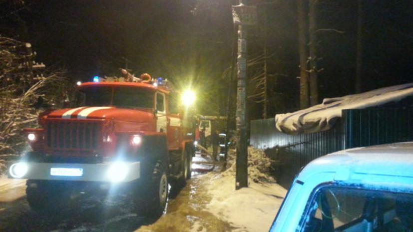 В Ленинградской области произошёл хлопок в двухэтажном доме