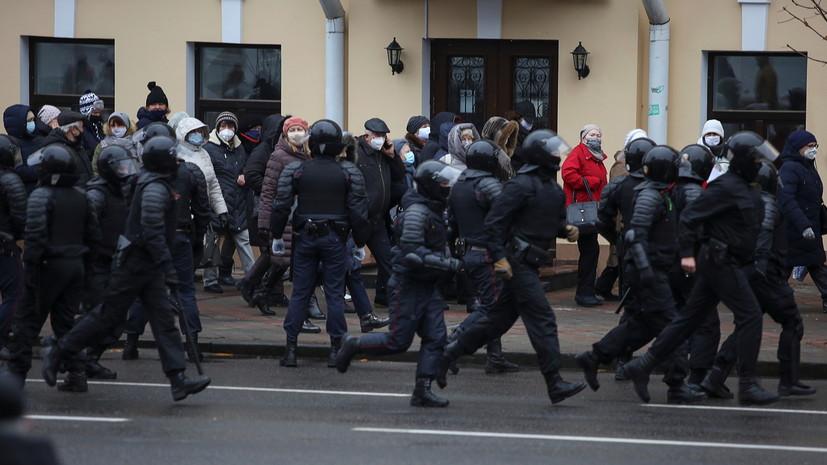 В Минске усилили меры безопасности перед акцией протеста