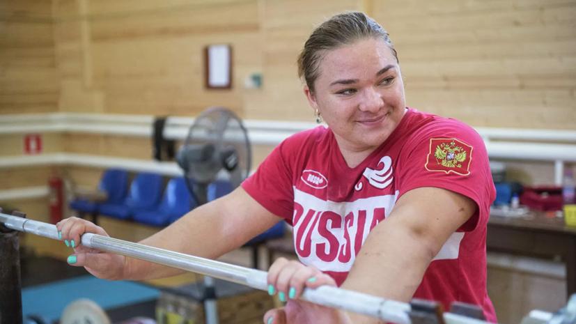 Тяжелоатлетка Каширина подозревается в нарушении антидопинговых правил