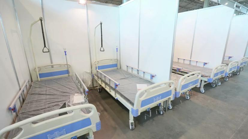 В Петербурге назвали число свободных коек для пациентов с COVID-19