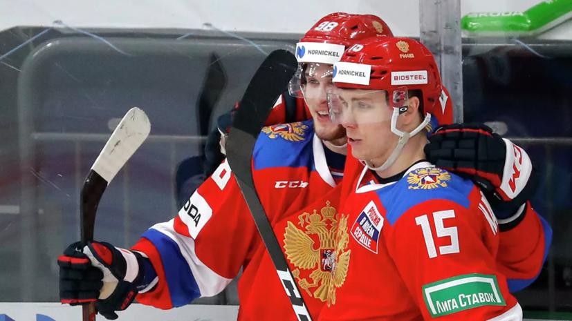Сборная России по хоккею победила Финляндию на Кубке Первого канала