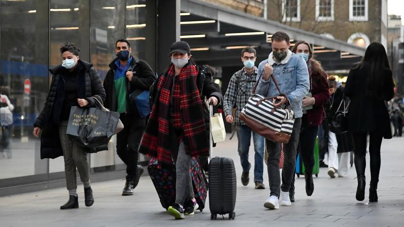 За сутки в Великобритании выявили35,9 тысячи случаев коронавируса