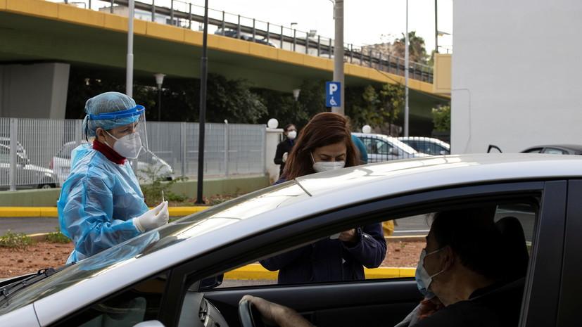 В Греции за сутки выявили 588 новых случаев коронавируса